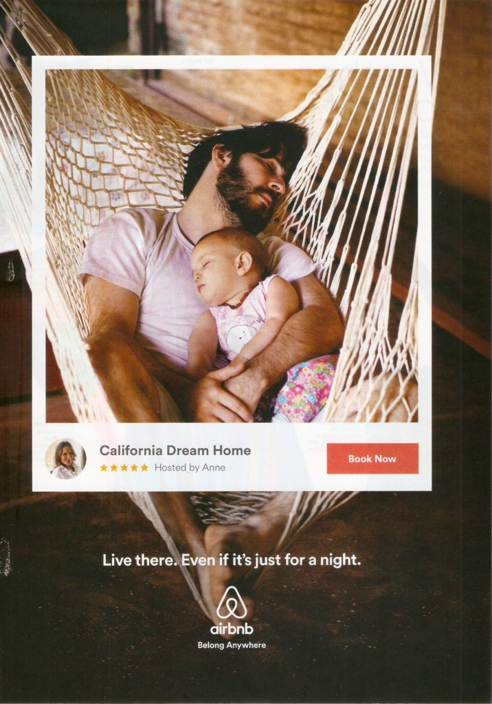 2016 Airbnb Print Advertisement Example