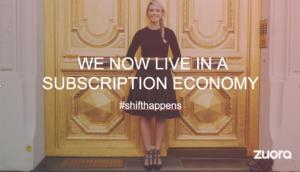 Zuora Opening Sales Presentation Slide